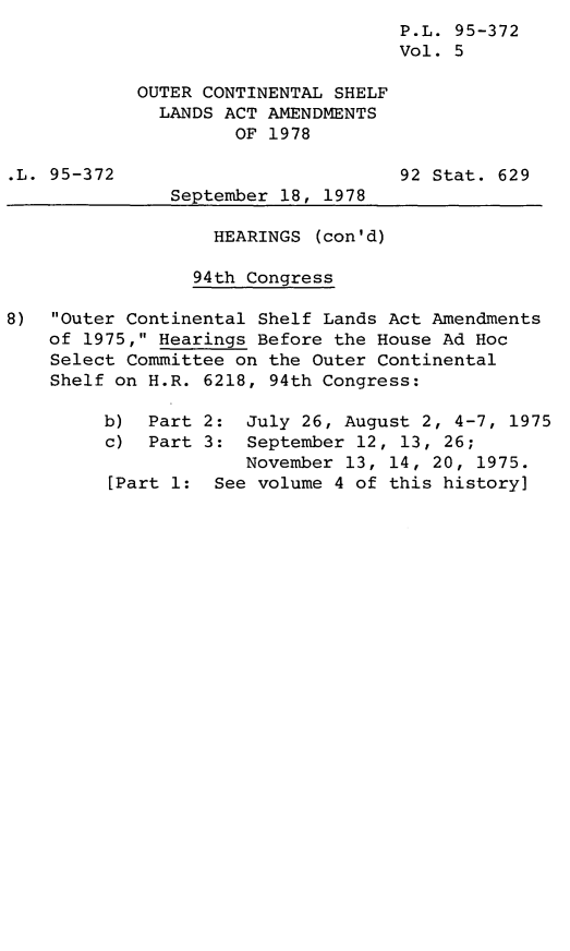 handle is hein.leghis/legoutshel0006 and id is 1 raw text is: P.L. 95-372