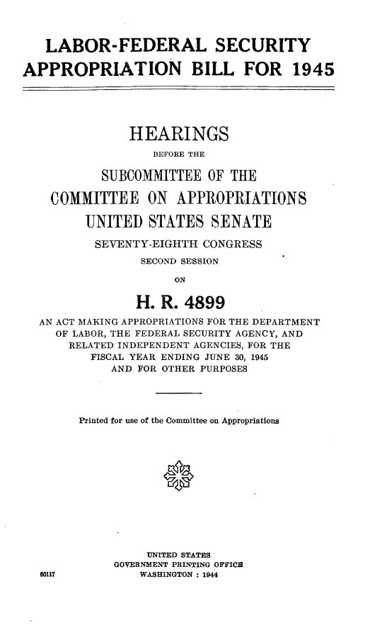 handle is hein.leghis/lhilabfapa0002 and id is 1 raw text is: LABOR-FEDERAL SECURITY
