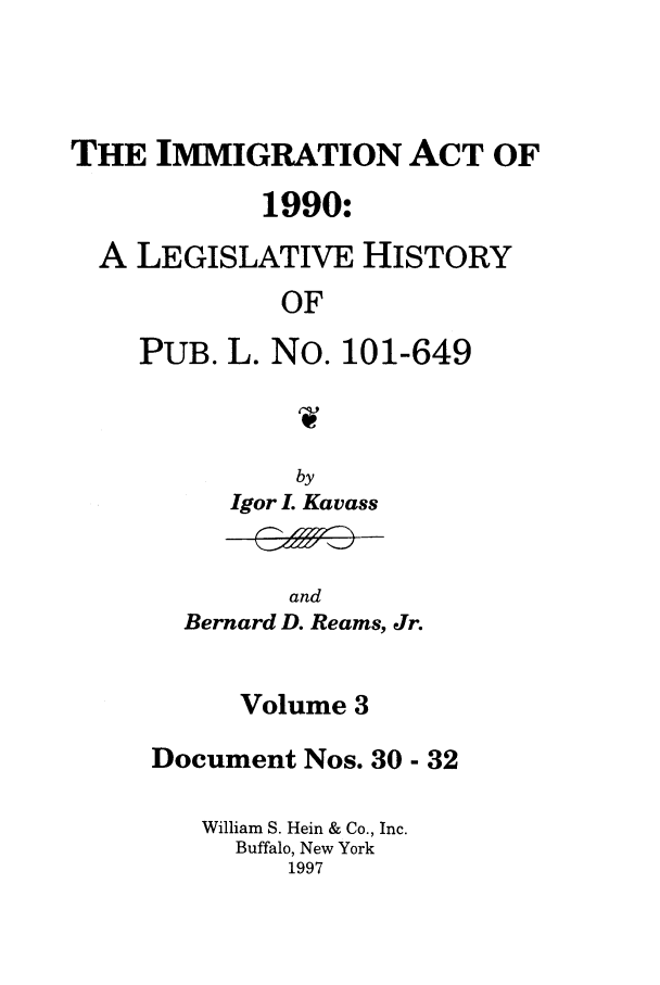 handle is hein.leghis/lhimact0003 and id is 1 raw text is: THE IMMIGRATION ACT OF