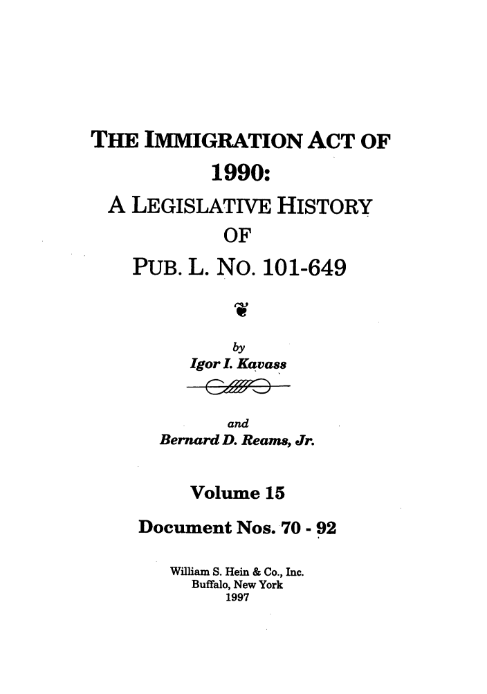 handle is hein.leghis/lhimact0015 and id is 1 raw text is: THE IMMIGRATION ACT OF