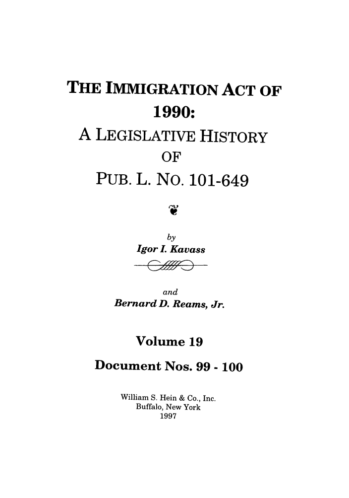 handle is hein.leghis/lhimact0019 and id is 1 raw text is: THE IMMIGRATION ACT OF