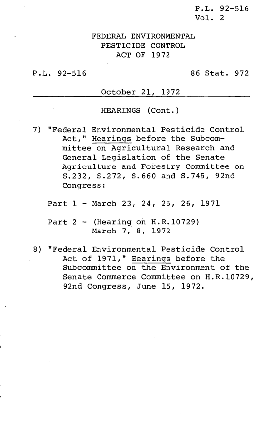 handle is hein.leghis/lhistcot0002 and id is 1 raw text is: P.L. 92-516