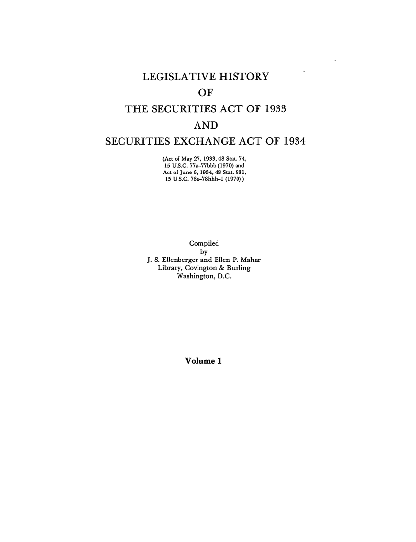 handle is hein.leghis/lhsv0001 and id is 1 raw text is: LEGISLATIVE HISTORY