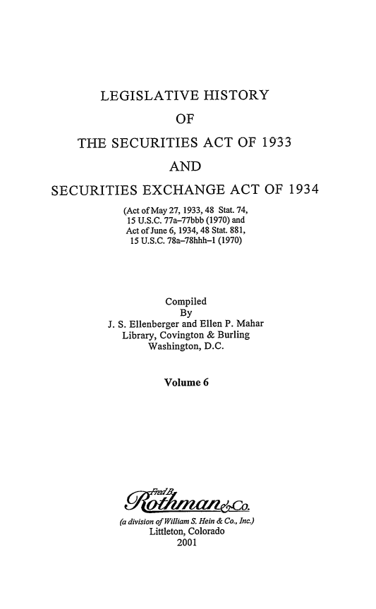 handle is hein.leghis/lhsv0006 and id is 1 raw text is: LEGISLATIVE HISTORY