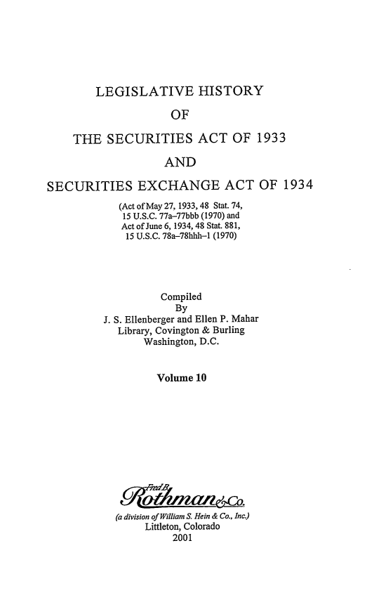 handle is hein.leghis/lhsv0010 and id is 1 raw text is: LEGISLATIVE HISTORY