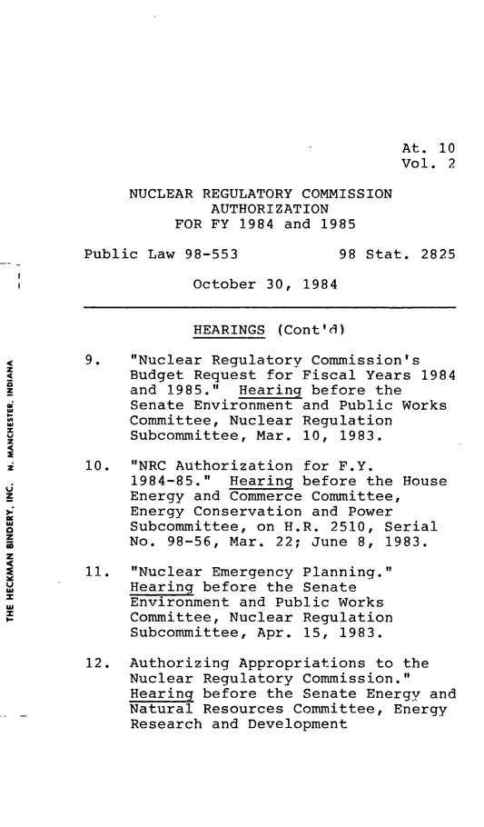 handle is hein.leghis/nrcau0002 and id is 1 raw text is: At. 10