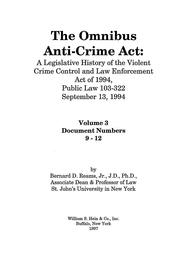 handle is hein.leghis/oanticvi0003 and id is 1 raw text is: The Omnibus