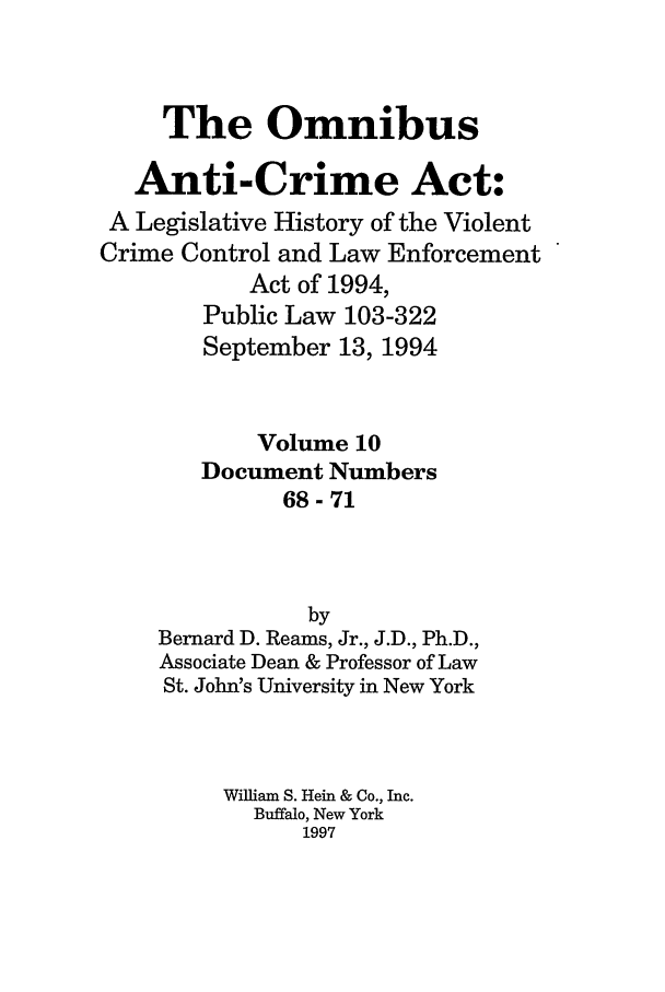 handle is hein.leghis/oanticvi0010 and id is 1 raw text is: The Omnibus