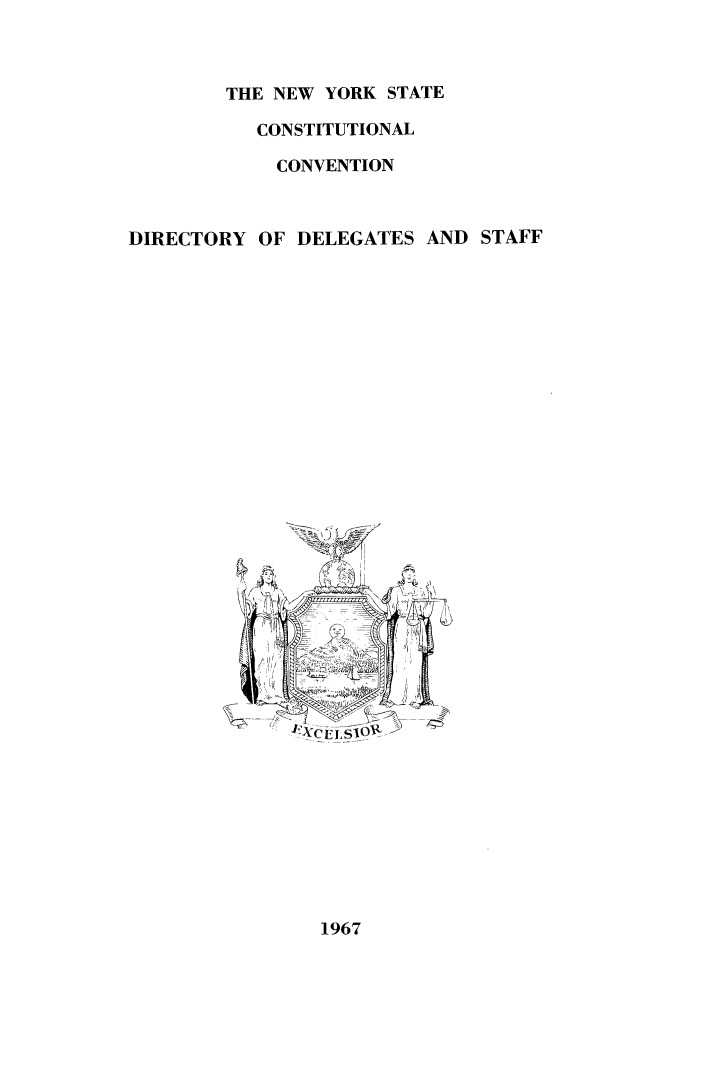 handle is hein.newyork/procncn0001 and id is 1 raw text is: THE NEW YORK STATE