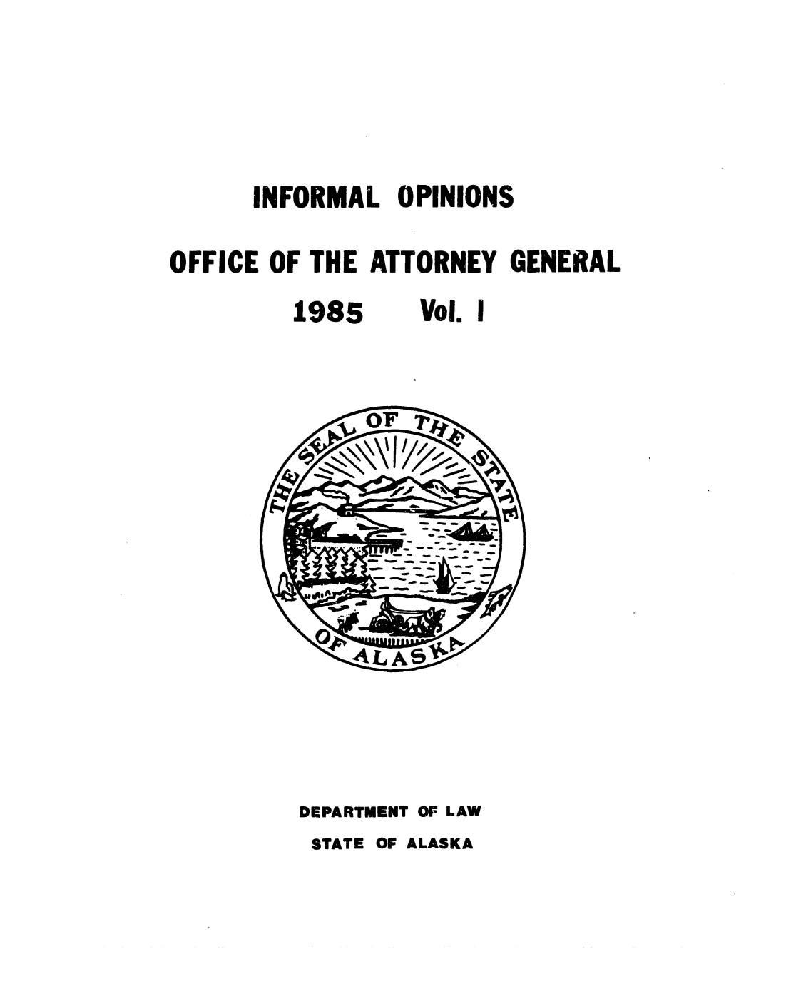 handle is hein.sag/sagak0035 and id is 1 raw text is: INFORMAL OPINIONS