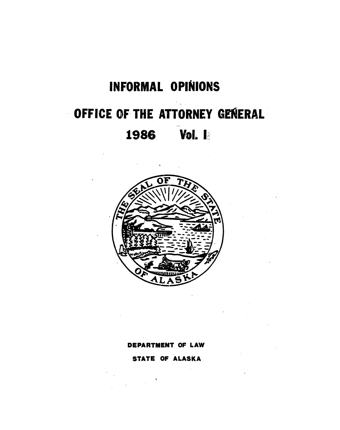 handle is hein.sag/sagak0038 and id is 1 raw text is: INFORMAL OPINIONS