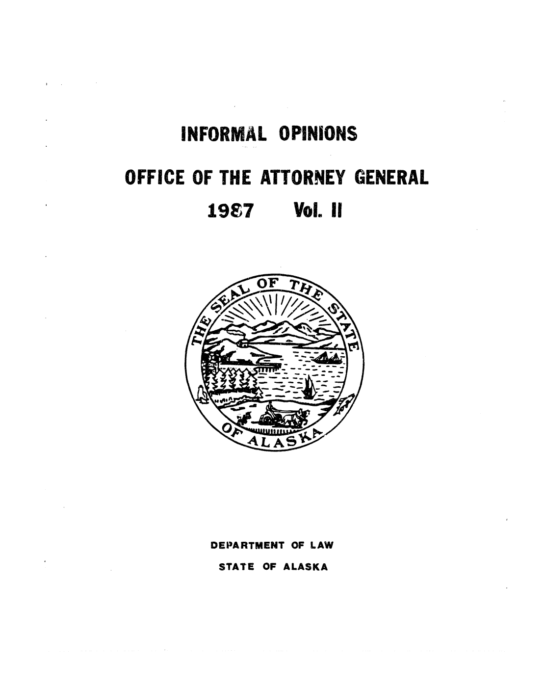 handle is hein.sag/sagak0042 and id is 1 raw text is: INFORMAL OPINIONS