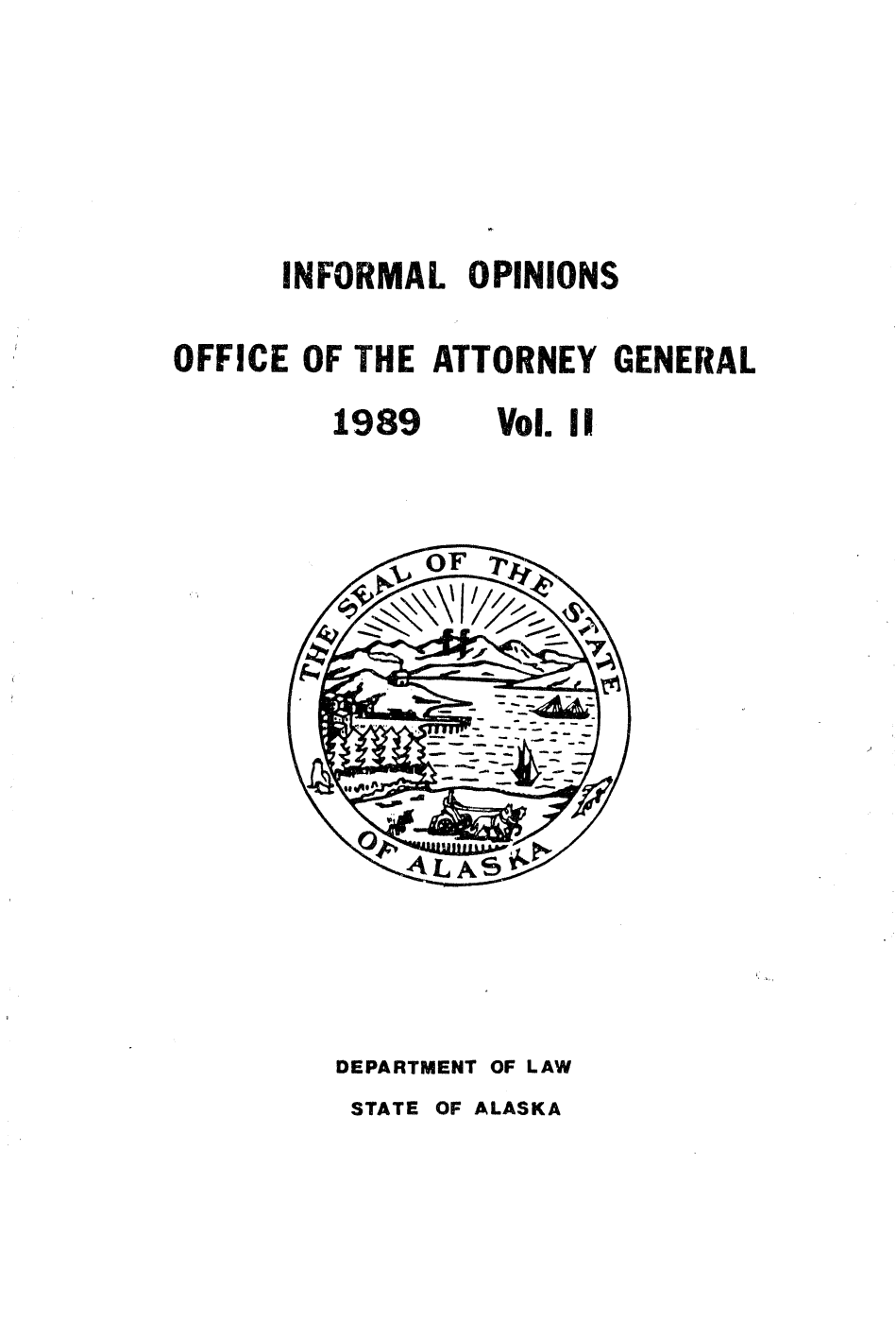 handle is hein.sag/sagak0047 and id is 1 raw text is: INFORMAL OPINIONS