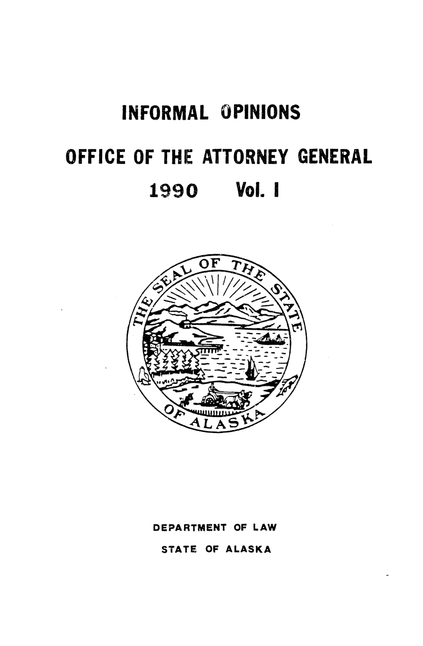 handle is hein.sag/sagak0048 and id is 1 raw text is: INFORMAL OPINIONS