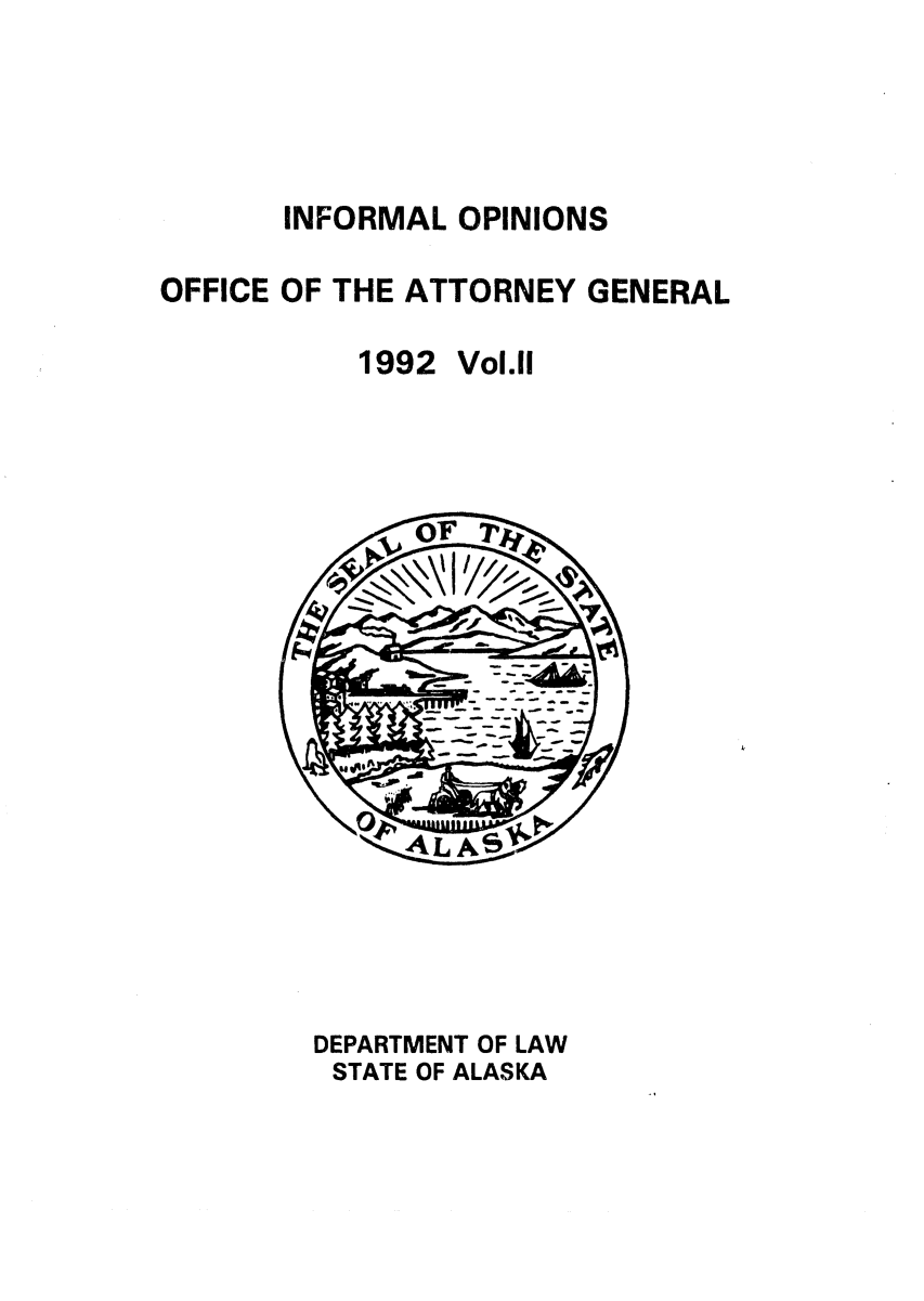 handle is hein.sag/sagak0053 and id is 1 raw text is: INFORMAL OPINIONS