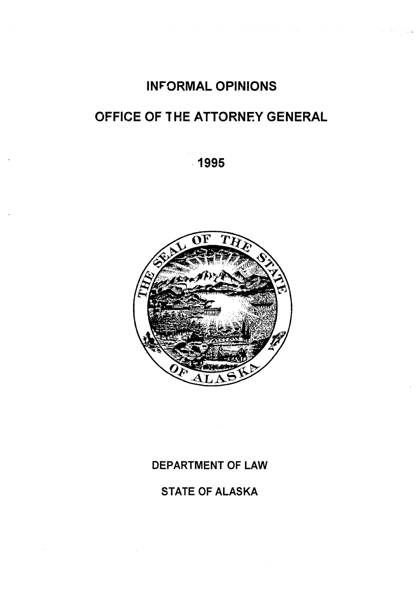 handle is hein.sag/sagak0057 and id is 1 raw text is: INFORMAL OPINIONS