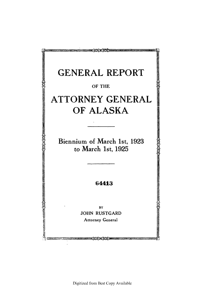 handle is hein.sag/sagak0071 and id is 1 raw text is: GENERAL REPORT