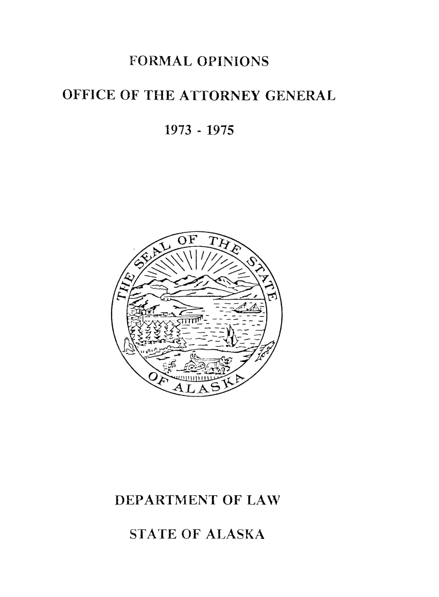 handle is hein.sag/sagak1975 and id is 1 raw text is: FORMAL OPINIONS