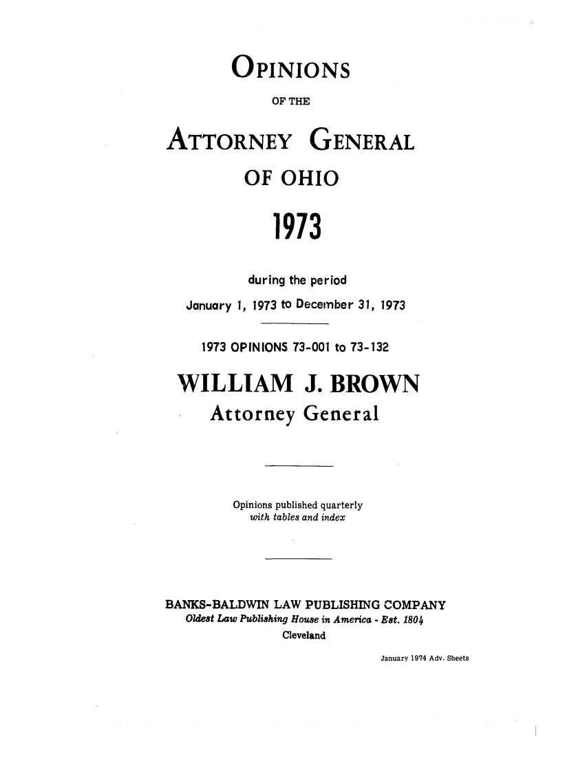 handle is hein.sag/sagoh0001 and id is 1 raw text is: OPINIONS