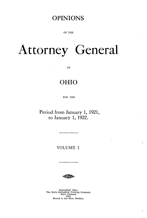 handle is hein.sag/sagoh0099 and id is 1 raw text is: OPINIONS