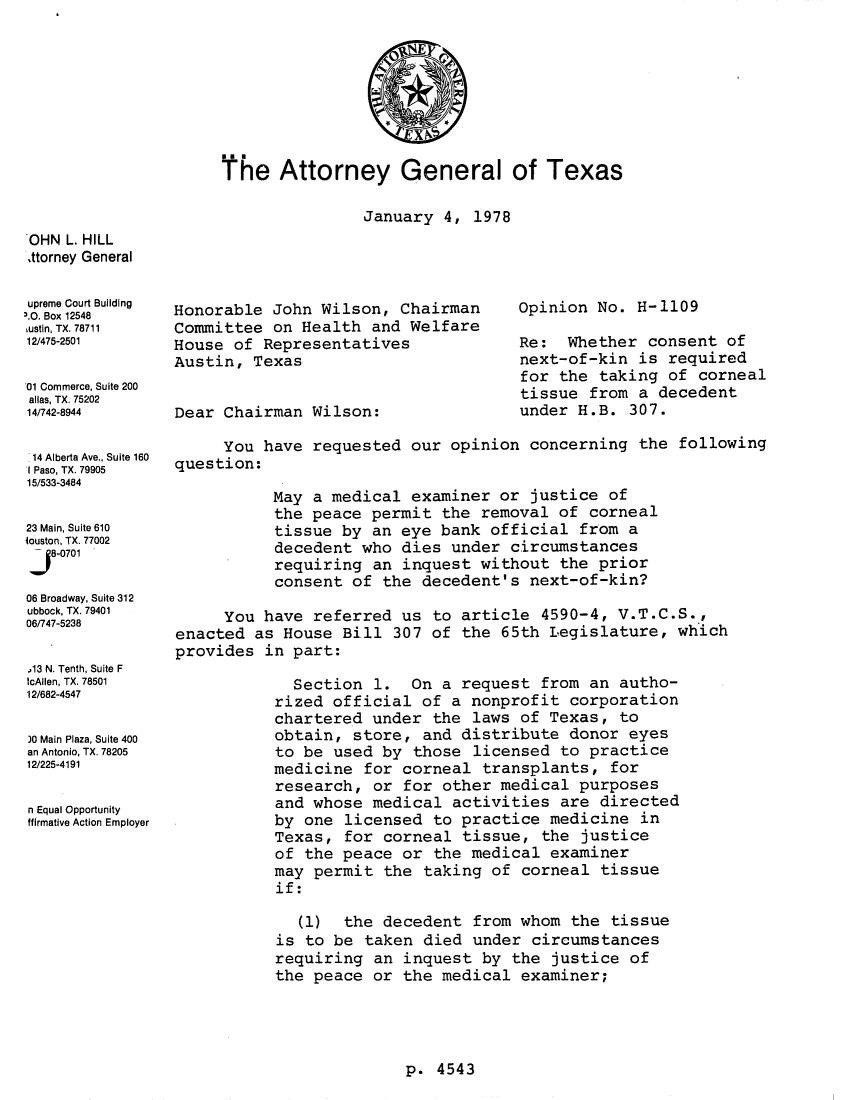 handle is hein.sag/sagtx0009 and id is 1 raw text is: The Attorney General of Texas