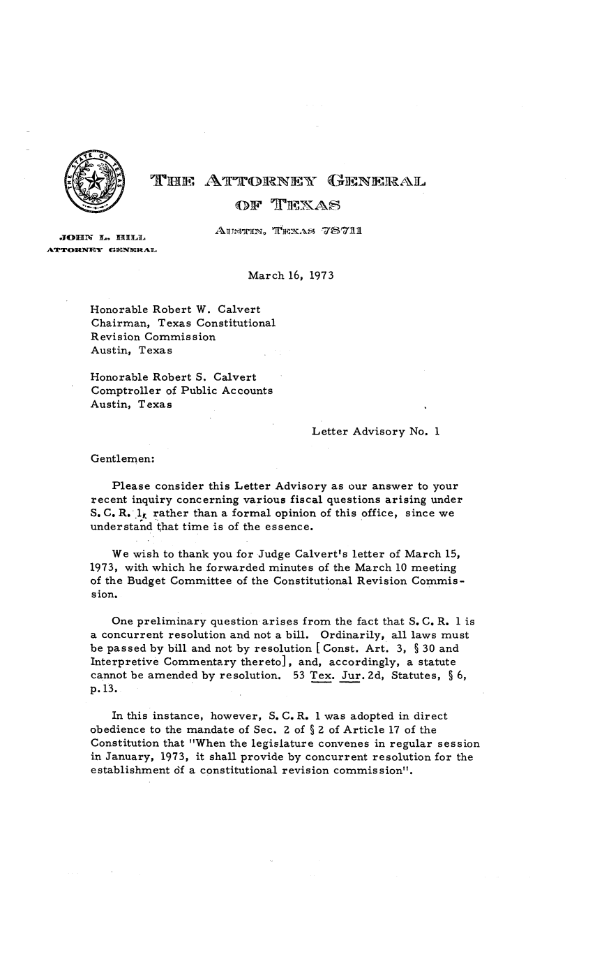 handle is hein.sag/sagtx0010 and id is 1 raw text is: ATTORNEY GENERAL