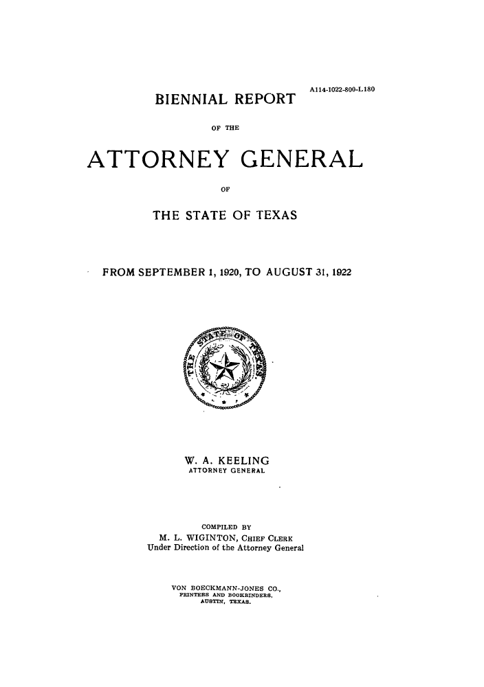 handle is hein.sag/sagtx0208 and id is 1 raw text is: A114-1022-800-L180