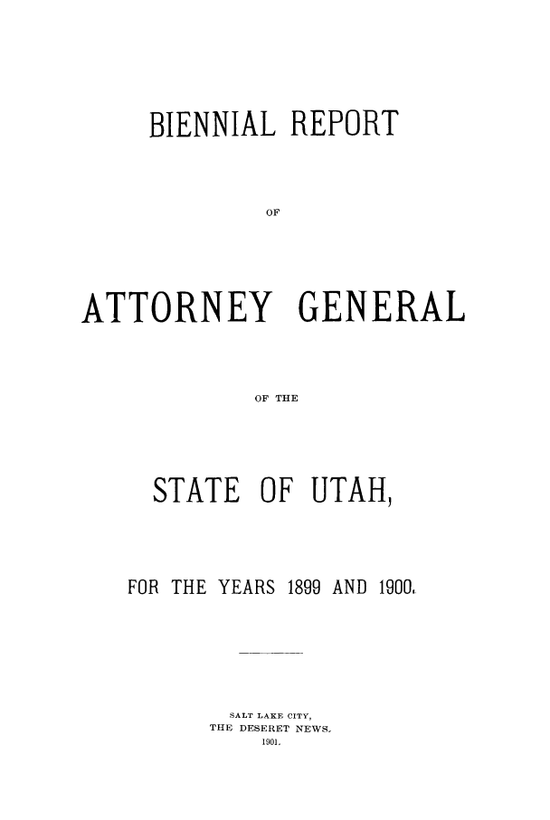 handle is hein.sag/sagut0023 and id is 1 raw text is: BIENNIAL REPORT