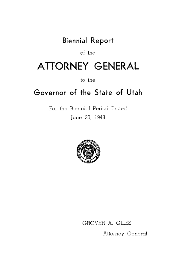 handle is hein.sag/sagut0047 and id is 1 raw text is: Biennial Report