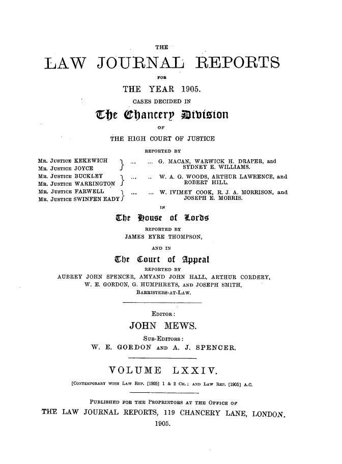 handle is hein.selden/lawjrnl0009 and id is 1 raw text is: 