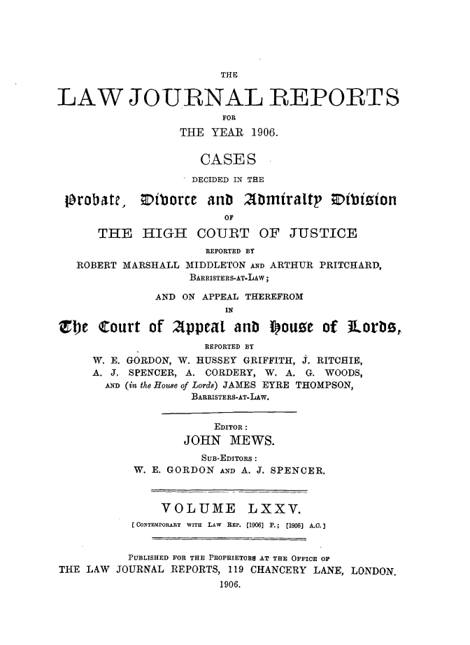 handle is hein.selden/lawjrnl0016 and id is 1 raw text is: 