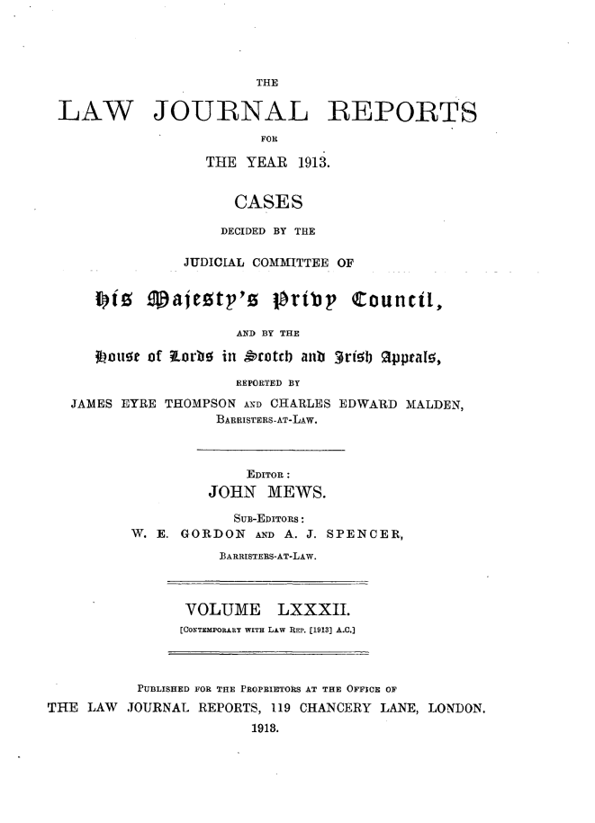 handle is hein.selden/lawjrnl0043 and id is 1 raw text is: 