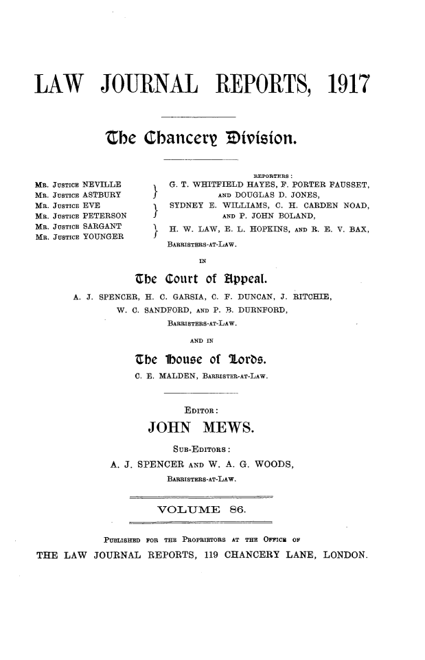 handle is hein.selden/lawjrnl0059 and id is 1 raw text is: 