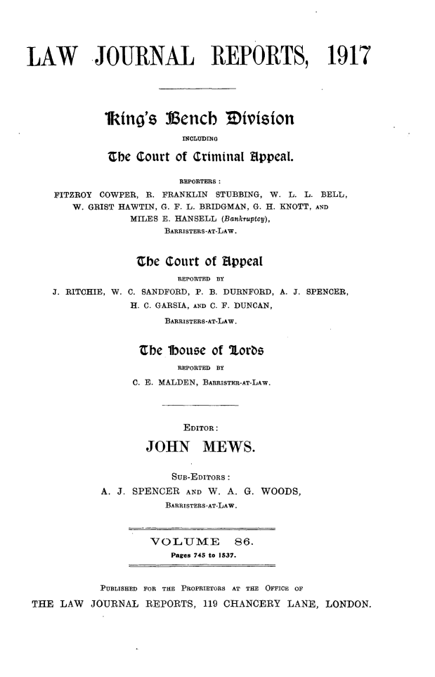 handle is hein.selden/lawjrnl0061 and id is 1 raw text is: 