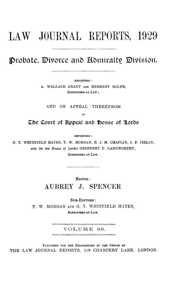 handle is hein.selden/lawjrnl0111 and id is 1 raw text is: 