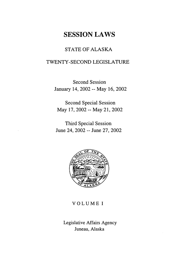 handle is hein.ssl/ssak0005 and id is 1 raw text is: SESSION LAWS