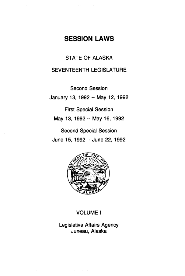 handle is hein.ssl/ssak0032 and id is 1 raw text is: SESSION LAWS