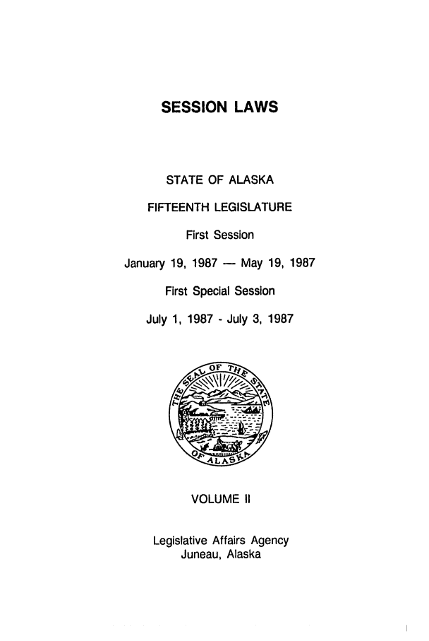 handle is hein.ssl/ssak0043 and id is 1 raw text is: SESSION LAWS