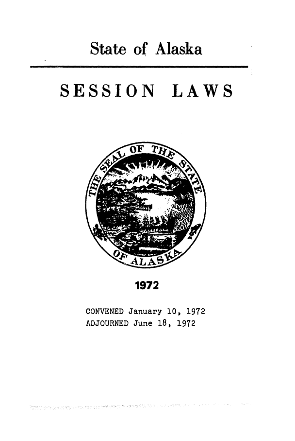 handle is hein.ssl/ssak0095 and id is 1 raw text is: State of Alaska