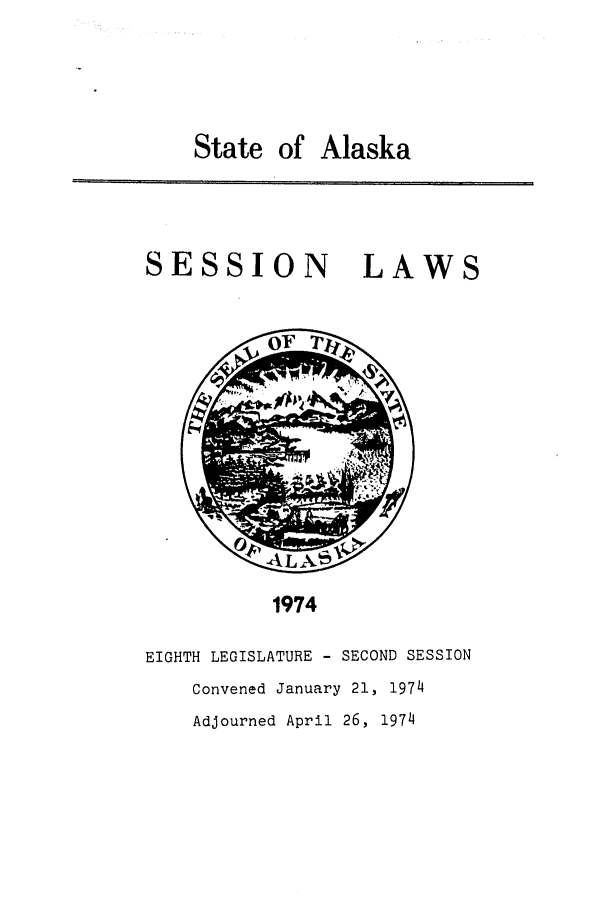 handle is hein.ssl/ssak0098 and id is 1 raw text is: State of Alaska