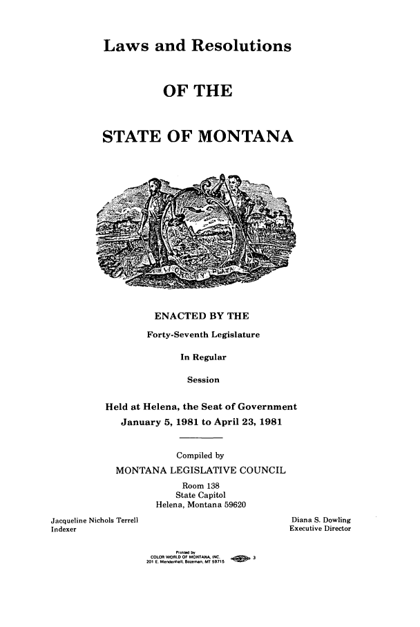 handle is hein.ssl/ssmt0042 and id is 1 raw text is: Laws and Resolutions