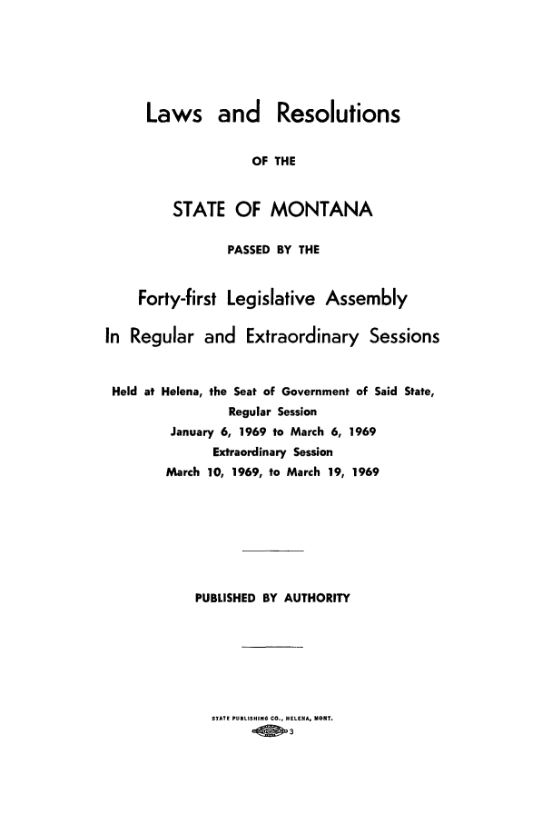 handle is hein.ssl/ssmt0067 and id is 1 raw text is: Laws and Resolutions