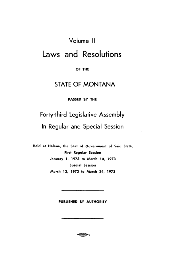 handle is hein.ssl/ssmt0072 and id is 1 raw text is: Volume II