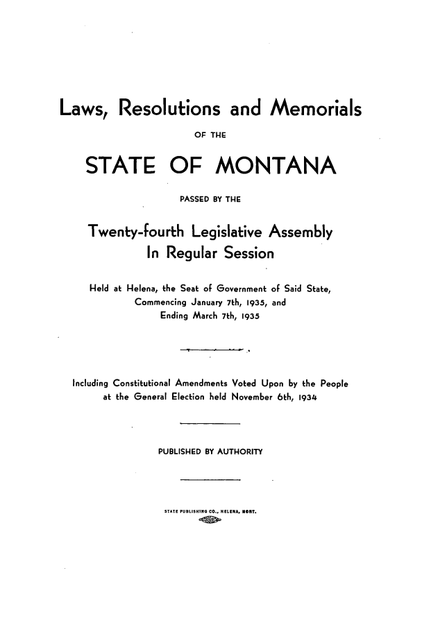 handle is hein.ssl/ssmt0127 and id is 1 raw text is: Laws, Resolutions and Memorials