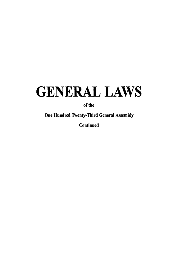handle is hein.ssl/ssoh0003 and id is 1 raw text is: GENERAL LAWS