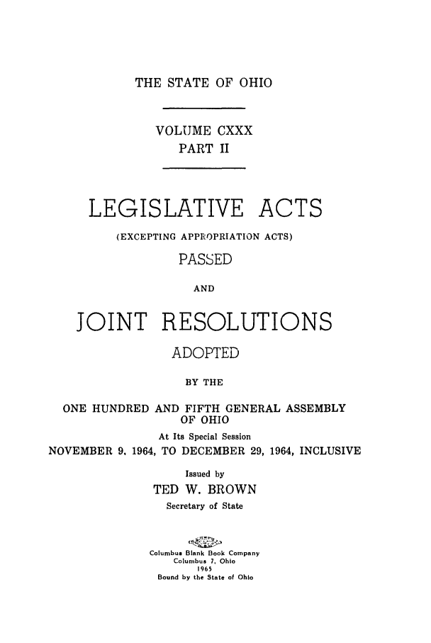 handle is hein.ssl/ssoh0076 and id is 1 raw text is: THE STATE OF OHIO