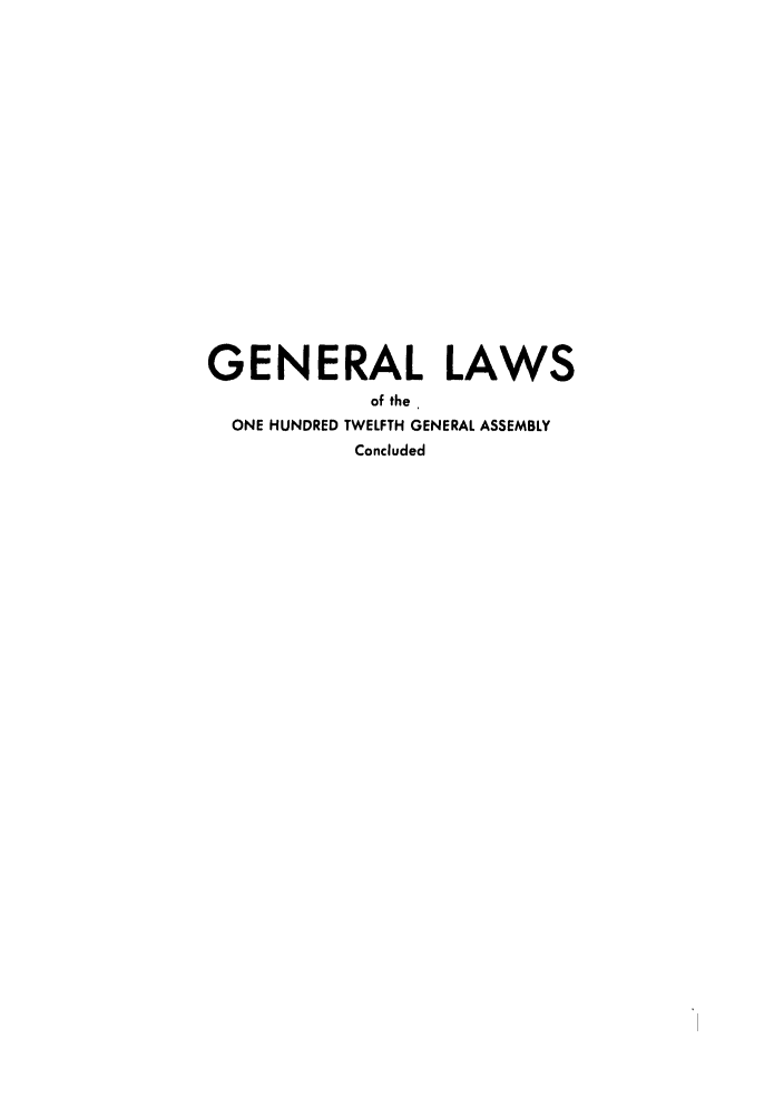 handle is hein.ssl/ssoh0093 and id is 1 raw text is: GENERAL LAWS