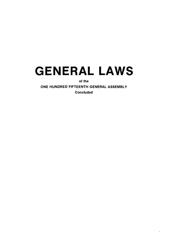 handle is hein.ssl/ssoh0100 and id is 1 raw text is: GENERAL LAWS