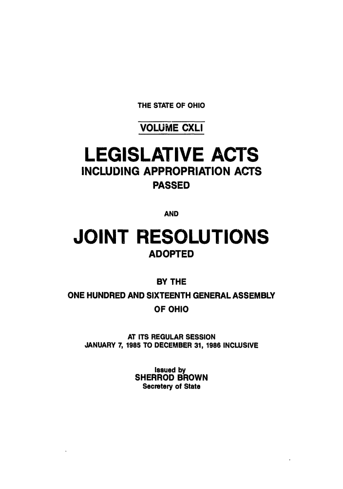 handle is hein.ssl/ssoh0101 and id is 1 raw text is: THE STATE OF OHIO