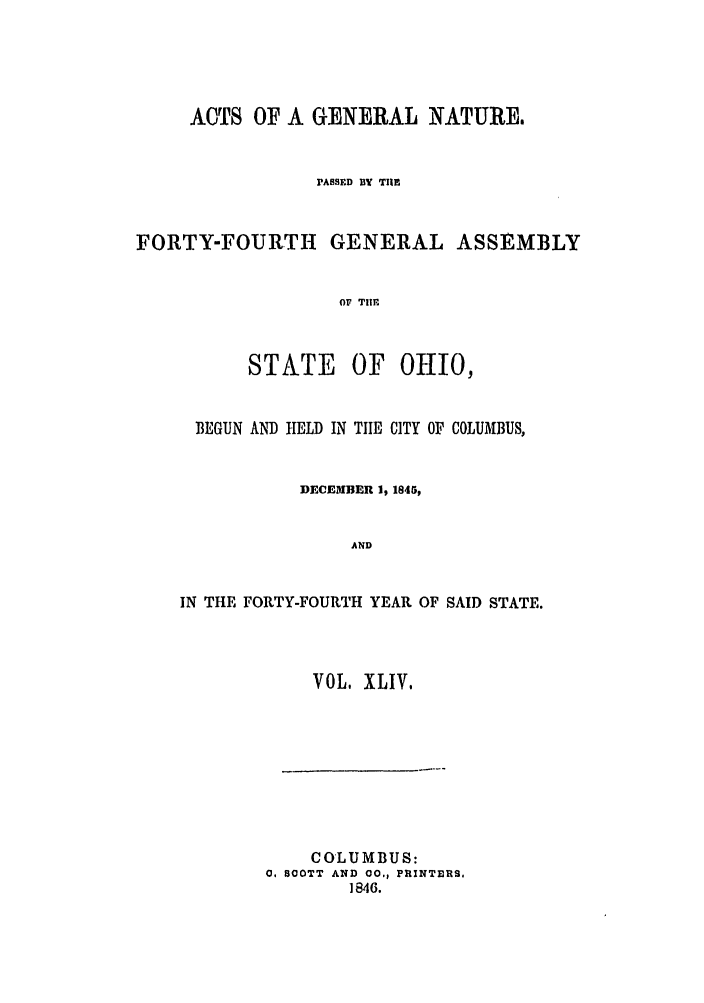 handle is hein.ssl/ssoh0181 and id is 1 raw text is: ACTS OF A GENERAL NATURES